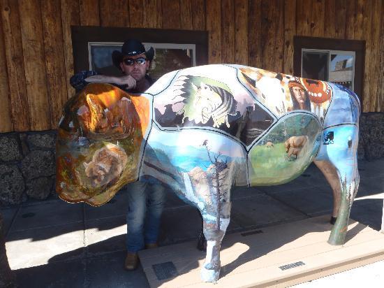 Holiday Inn - West Yellowstone: installazioni artistiche a West Yellowstone