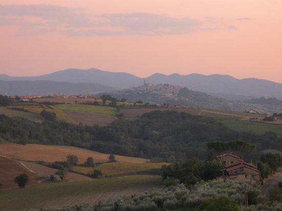Colle San Giovanni: vista dalla terrazza