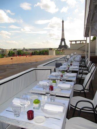 Maison blanche paris 15 avenue montaigne champs for Restaurant la maison blanche toulouse