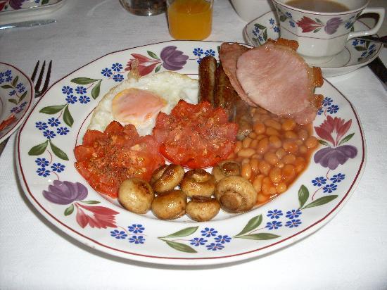 Solley Farm House: Sandy's great English Breakfast