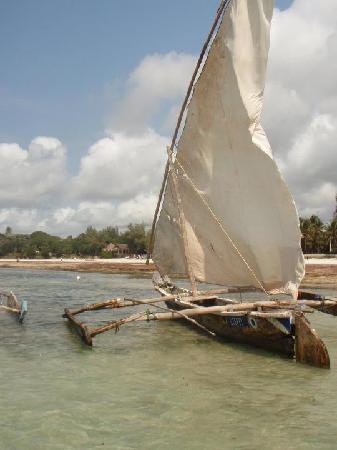 Ukunda, Kenya : on the boat trip