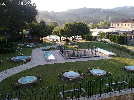 Gualdo Tadino, Italy: Vista dalla mia camera