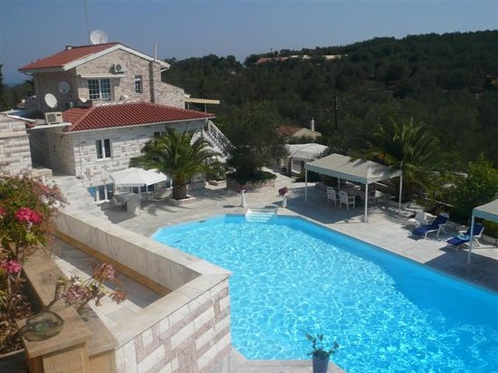 Gaios, اليونان: View of the main pool