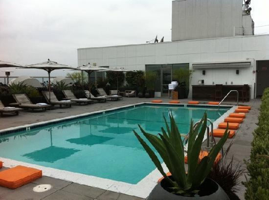 Andaz West Hollywood: PISCINA ULTIMO PIANO