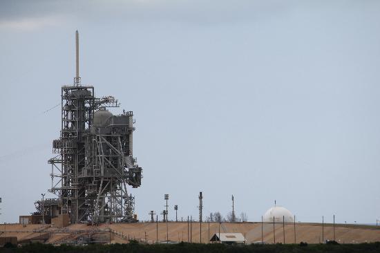 NASA Kennedy Space Center Visitor Complex: piattaforma di lancio
