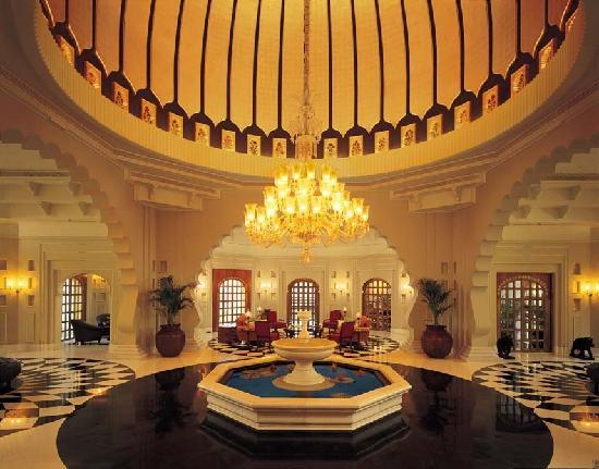 The Oberoi Udaivilas: The Lobby at Udaivilas