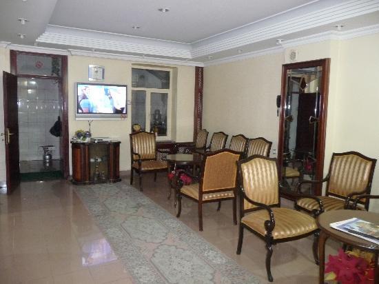 Hotel Emek: In der Lobby rechts