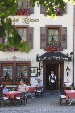 Hotel Gasthof Vier Löwen: Frontansicht