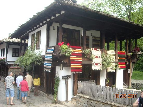 Gabrovo, Bulgaria: Typical house of the museum village