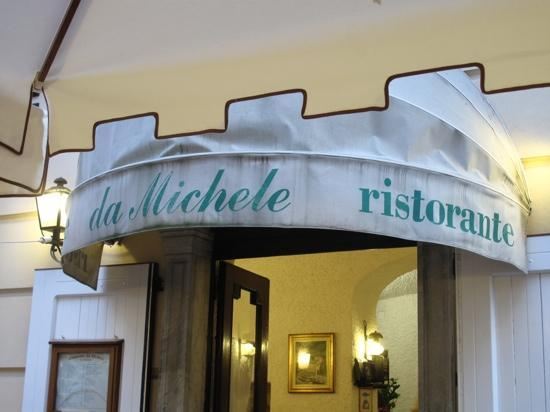 Ristorante Da Michele : 店内入り口