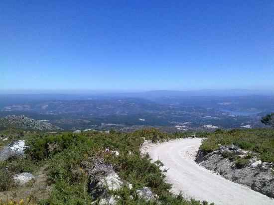 Province of Ourense, Spain: Subiendo al curro del Faro das Laceiras