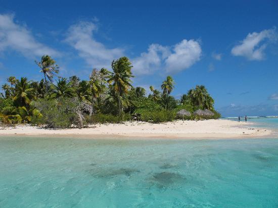 Tikehau Ninamu Resort: la plage