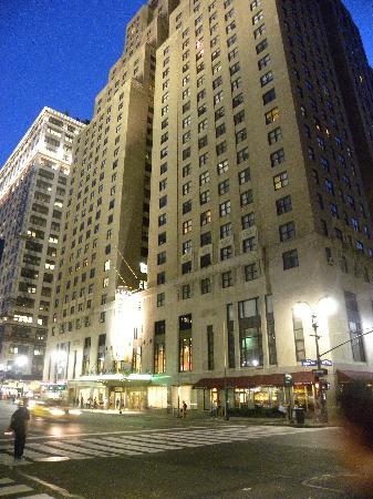โรงแรมเดอะนิวยอร์คเกอร์: vista laterale
