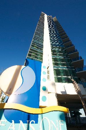 Oceans One Resort: from ocean blvd