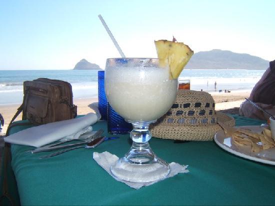 Nice view from beach resturant at Hotel Playa Mazatlan
