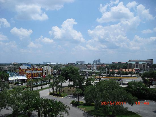 Rosen Inn International: View from top floor