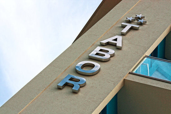 Hotel Tabor: Particolare Esterno