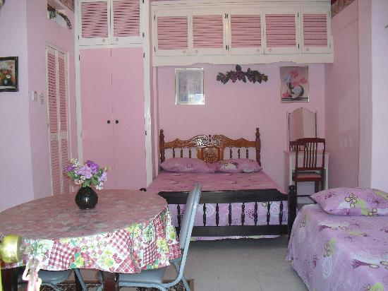 The Little Inn: We call this the Pink Room