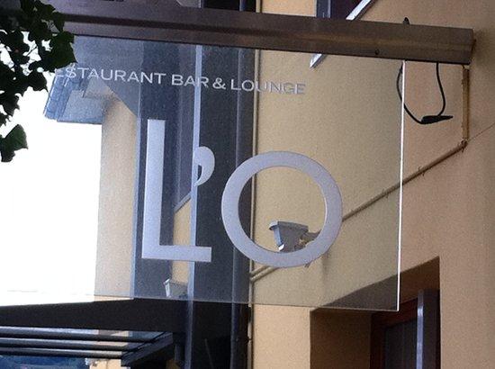 Seerestaurant L'O : Vor dem Eingang