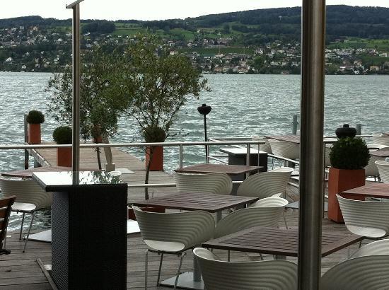Seerestaurant L'O : Terrasse