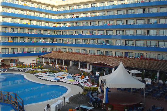 Tahití Playa Hotel: vue de notre chambre