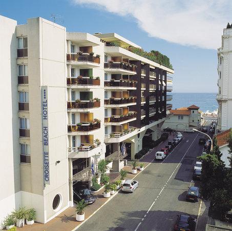 Mercure Cannes Croisette Beach : Façade Hôtel