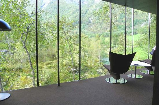 Juvet Landskapshotell: what a spectacular view