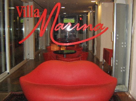 Hotel Villa Marina : l'ingresso