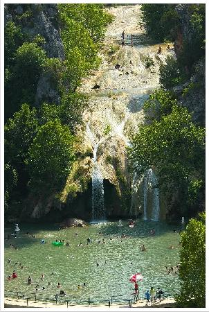 Davis, OK: Turner Falls view from lookout