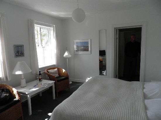 Our room in Skagen (Badepension Marienlund)