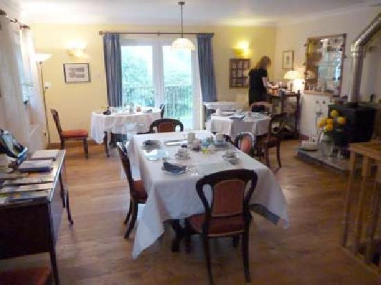 West Ower B&B: dinning room