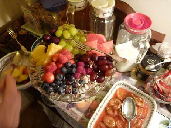 West Ower B&B: fruits
