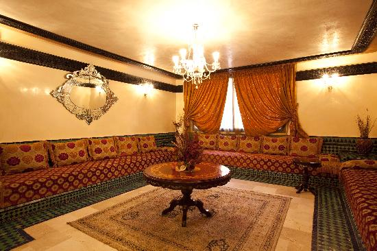 Ryad Mogador Menzah : hall salon