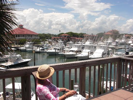 Inn at Camachee Harbor: A view from one of our suites