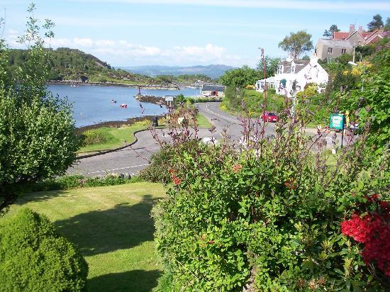 Springside B&B: View over harbour entrance