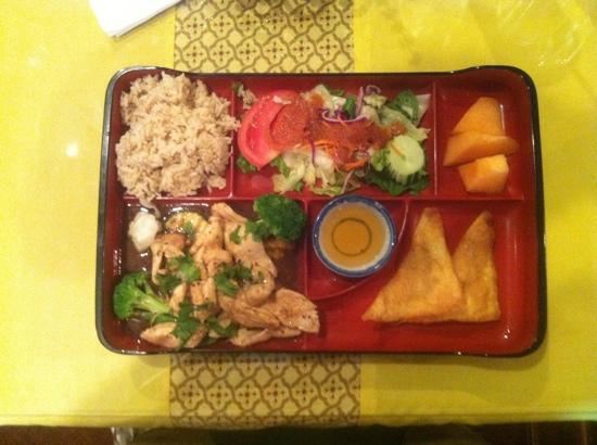 Chow Thai: Ginger Chicken (lunch special)