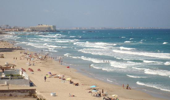 Hotel Entremares BioBalneario Marino: playa limpia