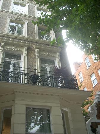 Lord Kensington Hotel: la facciata dell'hotel