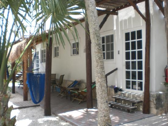 Villa Escondida Cozumel Bed and Breakfast: Rooms