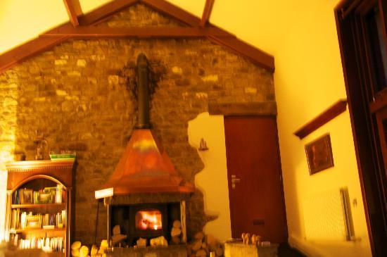 Beili Helyg Guest House: living room