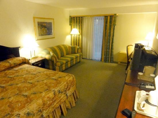 Hotel La Sagueneenne : Room 207