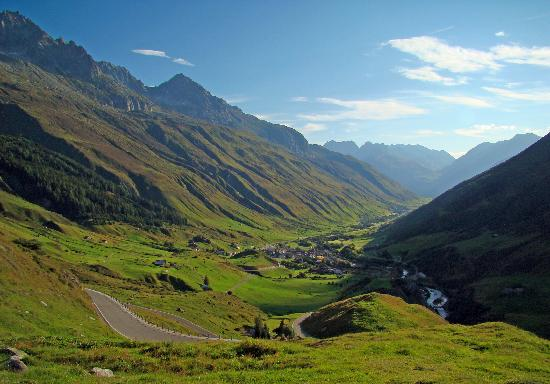 Canton of Valais, Switzerland: Furka Pass