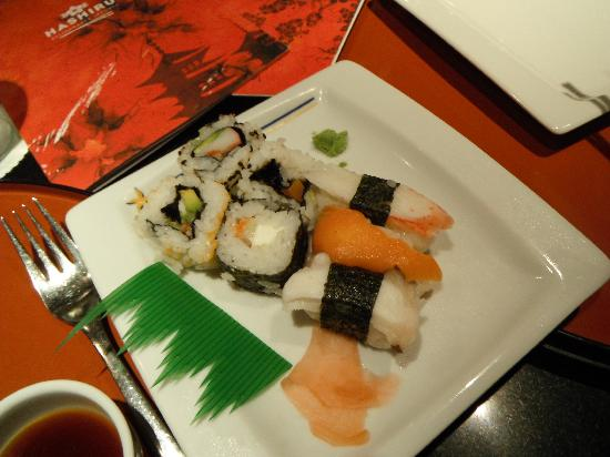 IBEROSTAR Paraiso Del Mar: Yummy sushi at the Japanese rest