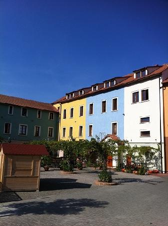 Hotel Galant****: yard