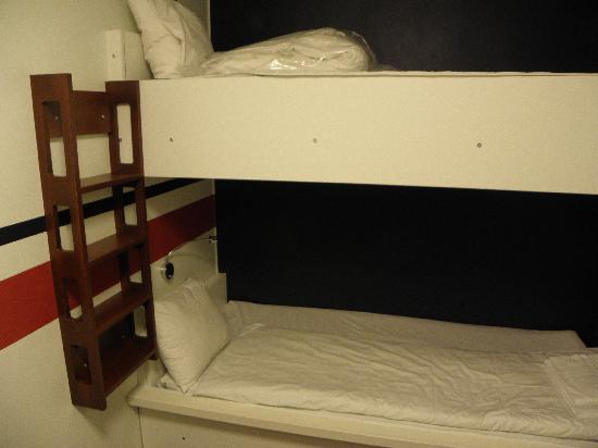 Hotel Micro: Camera doppia senza finestre e bagno in comune