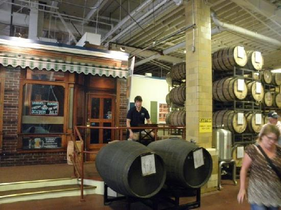 Samuel Adams Brewery: more plant