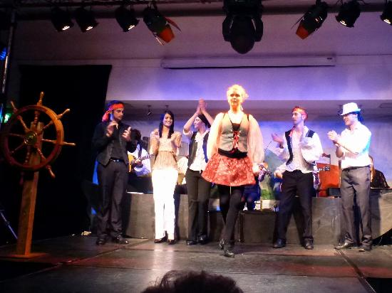 The Legend of Grainne Mhaol : The cast getting their Irish dancing shoes on