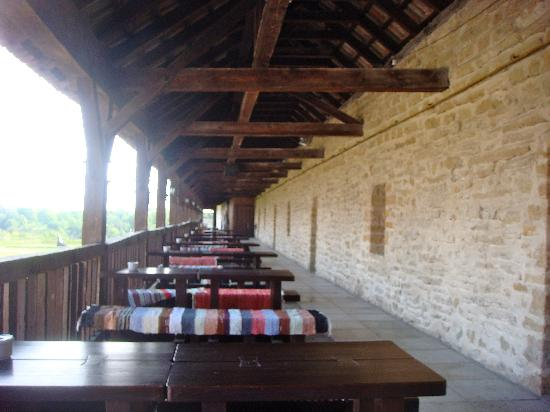 Narva Knights' Fortress: the restaurant 'outside'