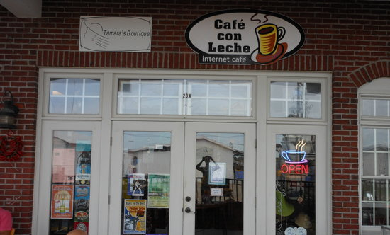 Cafe Con Leche: Storefront
