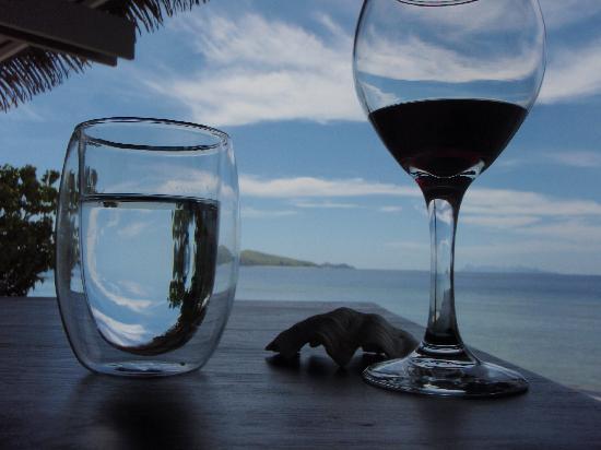 Tadrai Island Resort : Great View From The Restaurant